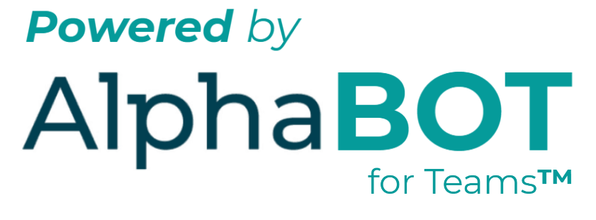 Powered by Alphabot for teams