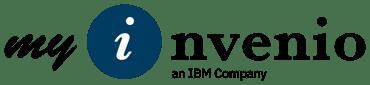 myInvenio Logo an IBM Company new logo