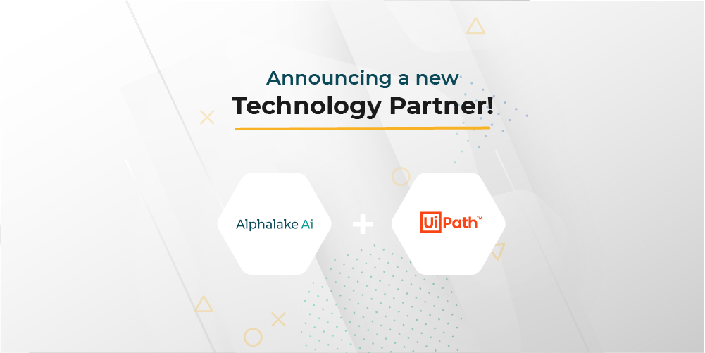 Alphalake AI and UiPath Announce Healthcare Digital Automation Partnership