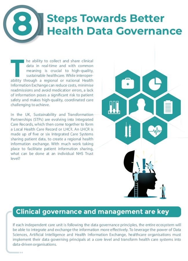 8 steps to better health data governance